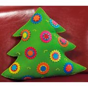 Dimensions Colourful Tree Cushion Christmas Craft Kit