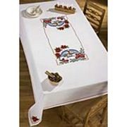 Winter Church Tablecloth - Permin Cross Stitch Kit