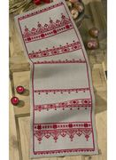 Christmas Sampler Runner - Permin Cross Stitch Kit