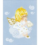 RIOLIS Cherub with Hymn Book Christmas Cross Stitch Kit