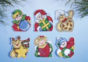 Holiday Gifts Ornaments - Design Works Crafts Cross Stitch Kit