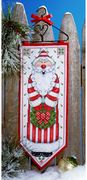 Santa Banner - Design Works Crafts Cross Stitch Kit