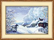 RIOLIS Russian Winter Christmas Cross Stitch Kit