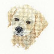 Golden Labrador - Evenweave - Heritage Cross Stitch Kit