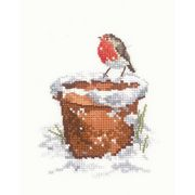 Garden Friend - Evenweave - Heritage Cross Stitch Kit
