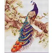 Luca-S Peacocks I Cross Stitch Kit