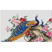 Luca-S Peacocks II Cross Stitch Kit