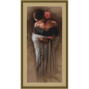 Spanish Lady with Rose - Luca-S Cross Stitch Kit