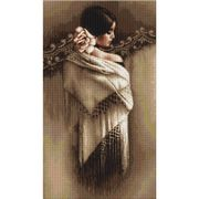 Spanish Lady with Shawl - Luca-S Cross Stitch Kit