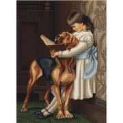 Luca-S Morning Learning Cross Stitch Kit