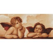 Luca-S Cherubs Cross Stitch Kit