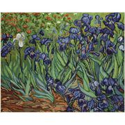 Luca-S Irises - Van Gogh Cross Stitch Kit