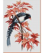 Bird - Luca-S Cross Stitch Kit