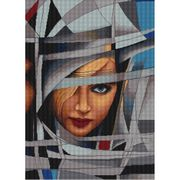 Abstract 8 - Luca-S Cross Stitch Kit
