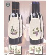 Grapes Wine Aprons - Set 4 - Permin Cross Stitch Kit