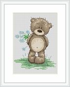 Bruno Says I Love You - Luca-S Cross Stitch Kit