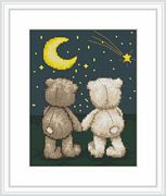 Luca-S Night-time Walk Cross Stitch Kit