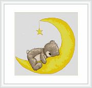 Sweet Dreams Bruno - Luca-S Cross Stitch Kit