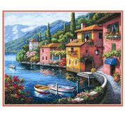 Lakeside Village - Dimensions Cross Stitch Kit