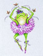 Frog Dancer - Design Works Crafts Cross Stitch Kit