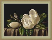 Luca-S Magnolia Cross Stitch Kit