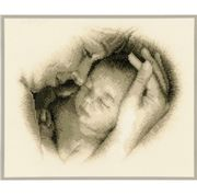 Vervaco Sleeping Safely Cross Stitch Kit