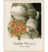 The Bouquet - Vervaco Cross Stitch Kit