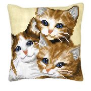 Vervaco Three Kittens Cross Stitch