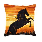 Vervaco Sunset Stallion Cross Stitch Kit