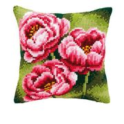 Anemone Cushion - Vervaco Cross Stitch Kit