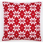 Vervaco Red and White Cushion Christmas Long Stitch Kit
