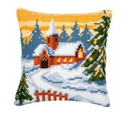 Christmas Church - Vervaco Cross Stitch Kit