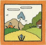 Hasbury - Abacus Designs Cross Stitch Kit