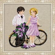 RIOLIS Spring Walk Cross Stitch Kit