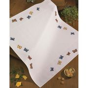 Permin Butterflies Tablecloth Cross Stitch Kit