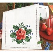 Large Rose Runner - Permin Cross Stitch Kit