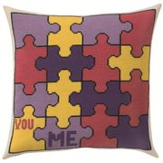 Permin Jigsaw Cushion Cross Stitch Kit