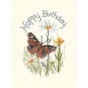 Butterfly Birthday - Derwentwater Designs Cross Stitch Kit