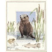 Derwentwater Designs Otter Cross Stitch Kit