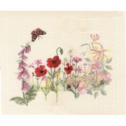 Summer Wild Flowers - Evenweave - Derwentwater Designs Cross Stitch Kit