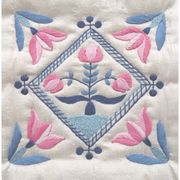 Abacus Designs Delft Tile 2 Embroidery Kit