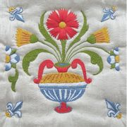 Abacus Designs Delft Tile 4 Embroidery Kit