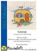 Caravan - Mouseloft Cross Stitch Kit
