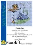 Mouseloft Camping Cross Stitch Kit