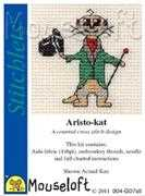 Mouseloft Aristo-kat Cross Stitch Kit