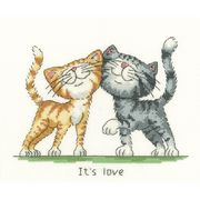 Its Love - Heritage Cross Stitch Kit