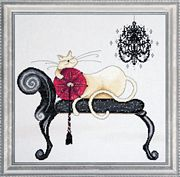 Chandelier Cat - Design Works Crafts Cross Stitch Kit