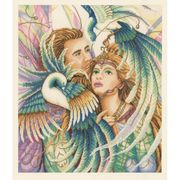 Birds of Paradise -Aida - Lanarte Cross Stitch Kit
