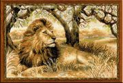 RIOLIS King of Beasts Cross Stitch Kit