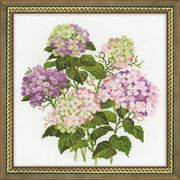 RIOLIS Garden Hydrangea Cross Stitch Kit